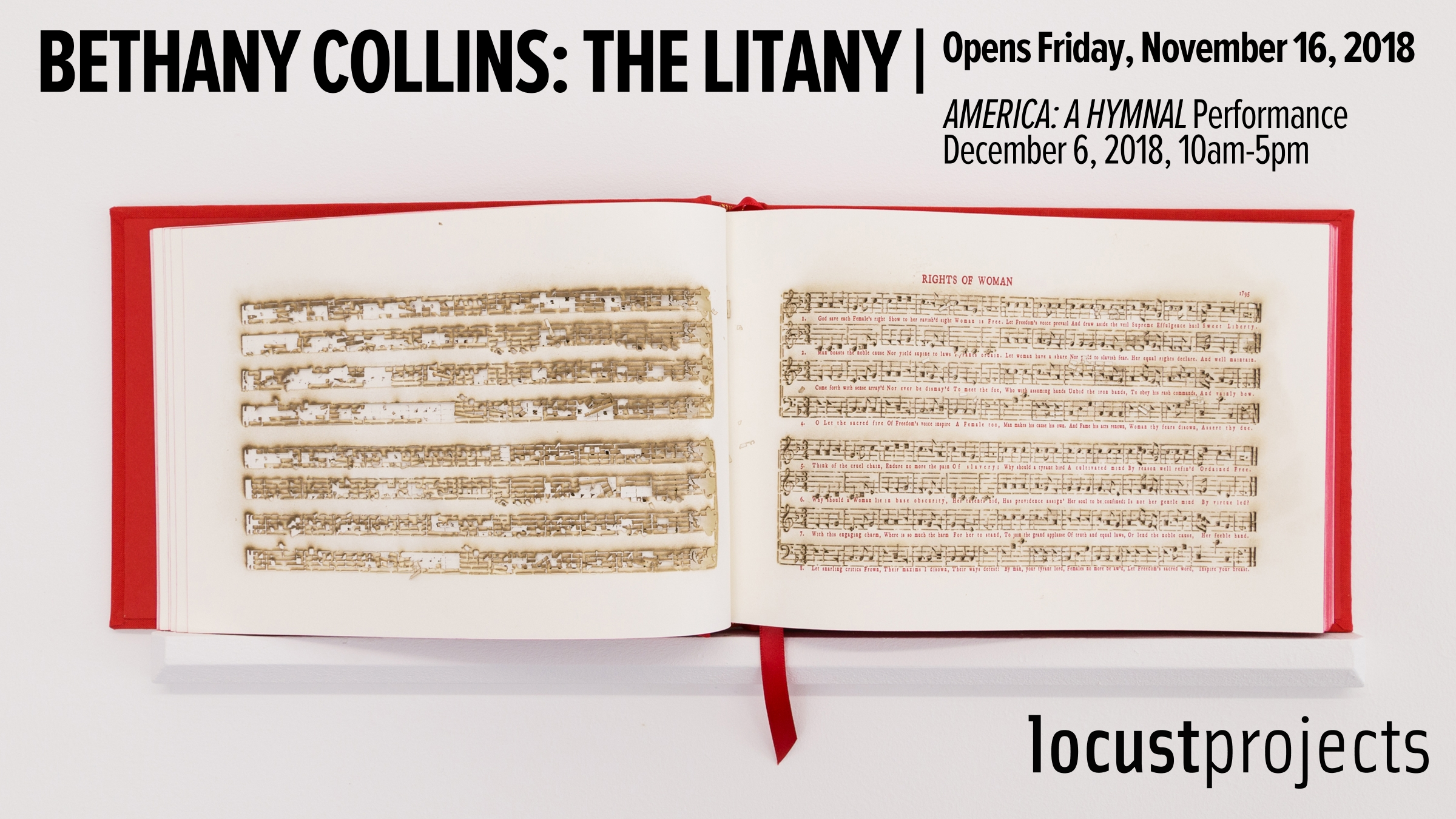 Coming up - Bethany Collins: The Litany