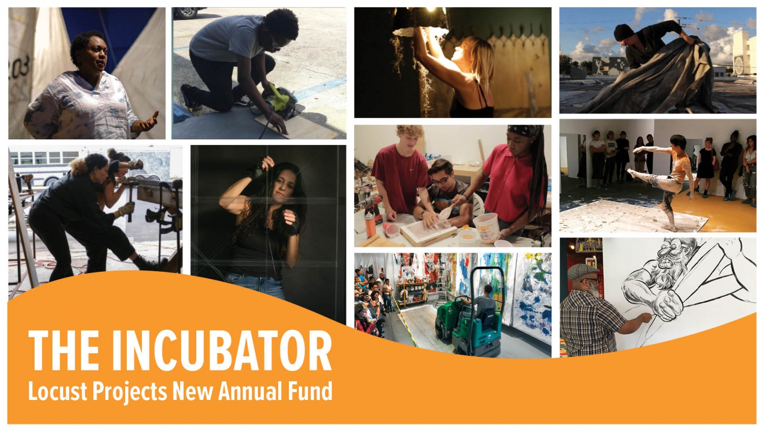 The Incubator, Launching Spring 2021